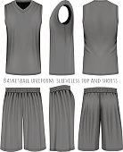 Basketball black uniform