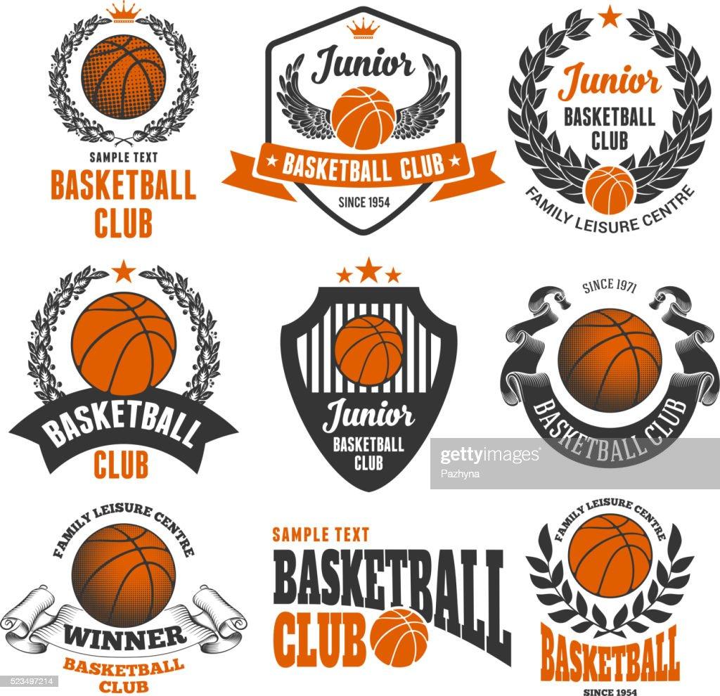 Basketball Club Emblems