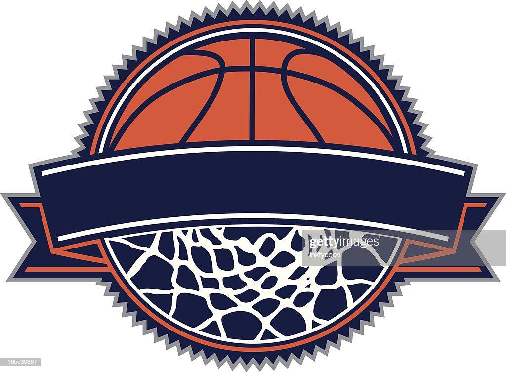 Diseño de baloncesto : Ilustración de stock