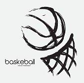 basketball design, vector illustration eps 10 graphic