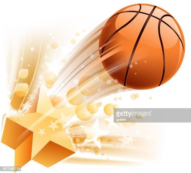バスケットボールの刺激