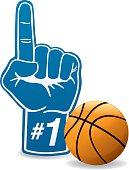 Basketball Foam Hand