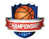 Basketball glossy shield