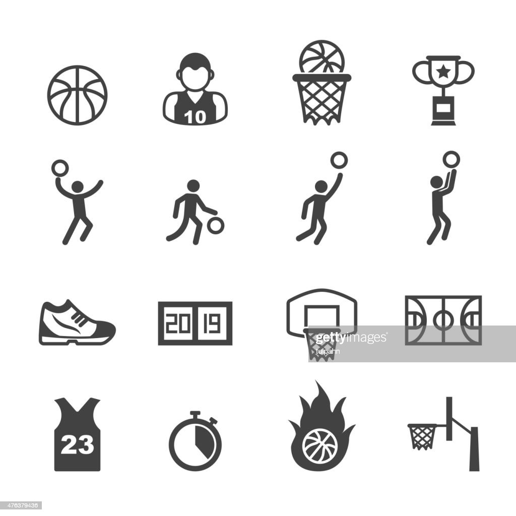 basketball icons