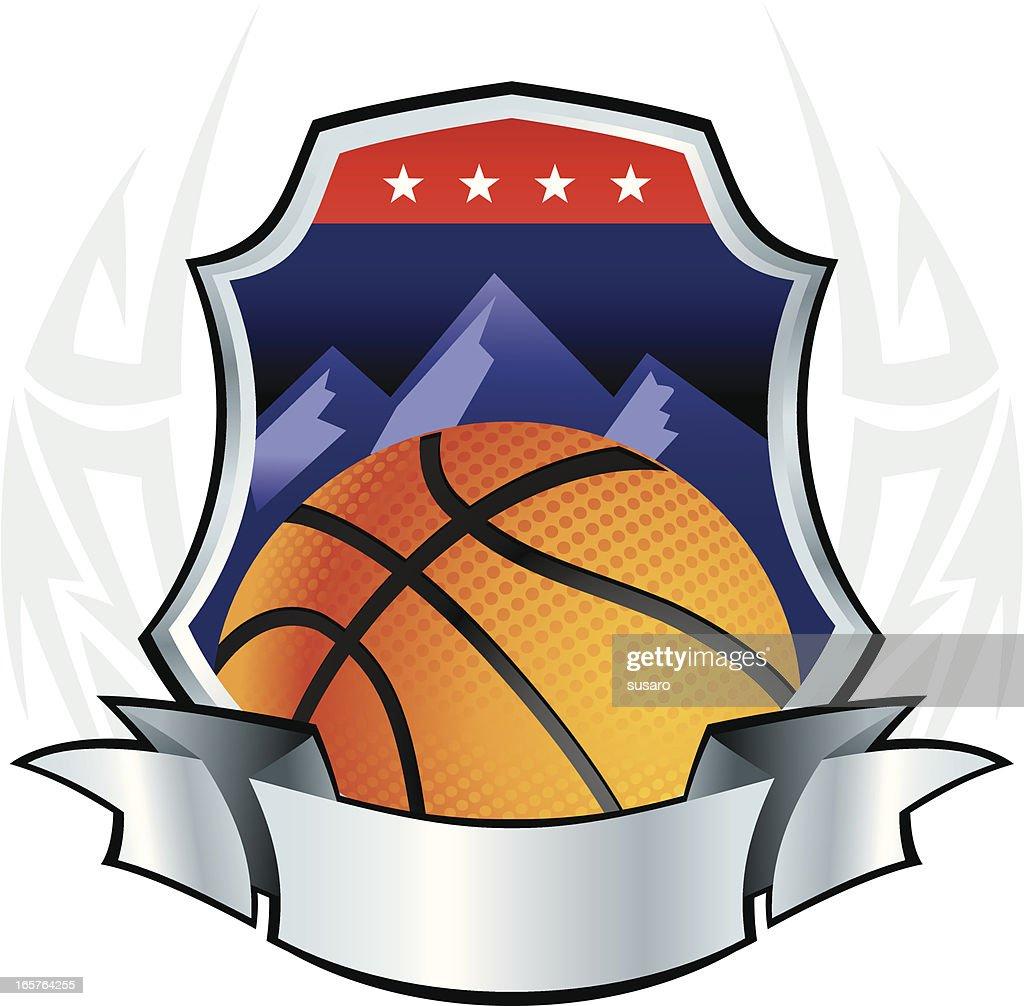 Basketball Insignia : stock illustration
