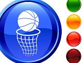 basketball internet royalty free vector art
