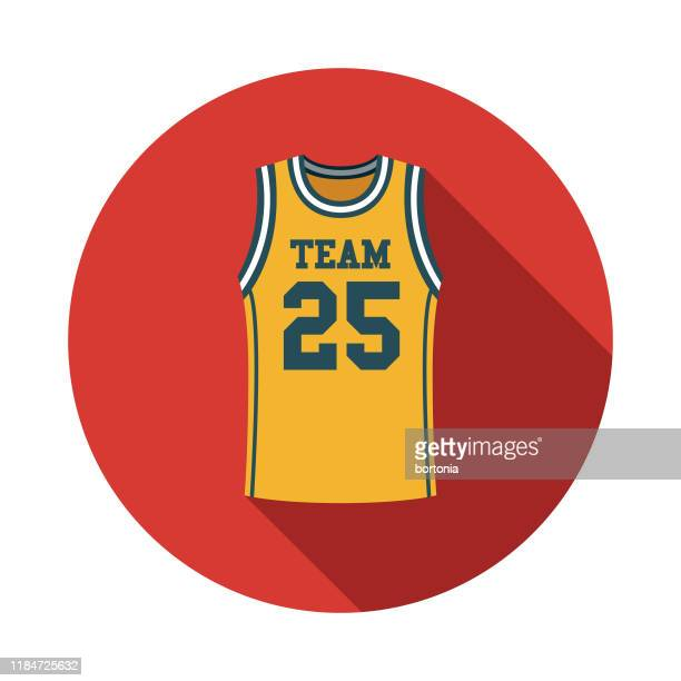basketball jersey icon - sports jersey stock illustrations