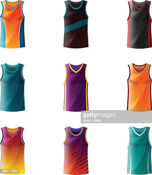バスケットボールのジャージー - ジャージ素材点のイラスト素材/クリップアート素材/マンガ素材/アイコン素材