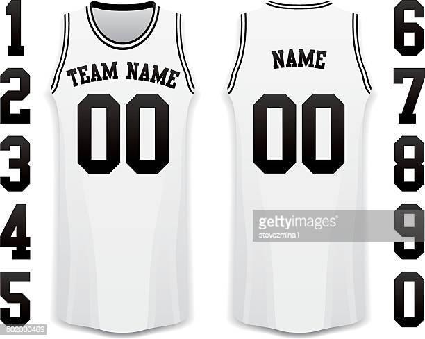 バスケットボールのジャージー - スポーツユニフォーム点のイラスト素材/クリップアート素材/マンガ素材/アイコン素材
