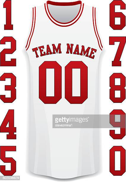 バスケットボールのジャージー - バスケットボールのユニフォーム点のイラスト素材/クリップアート素材/マンガ素材/アイコン素材