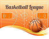 basketball league action