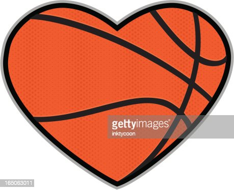 Download Basketball Love Vector Art   Getty Images