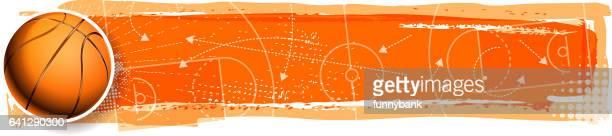 ilustraciones, imágenes clip art, dibujos animados e iconos de stock de planificación de baloncesto - cancha de baloncesto