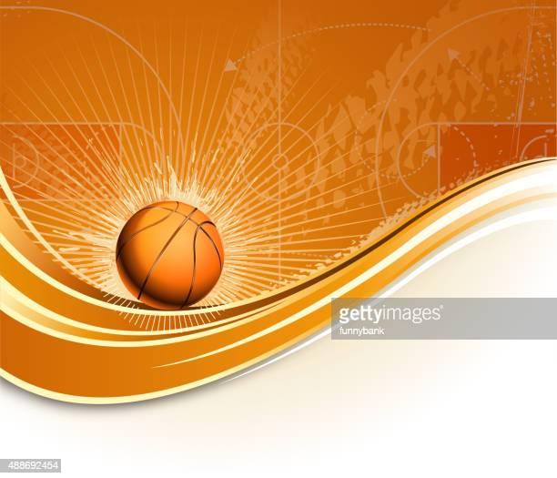 ilustraciones, imágenes clip art, dibujos animados e iconos de stock de la fase de planificación de baloncesto - cancha de baloncesto