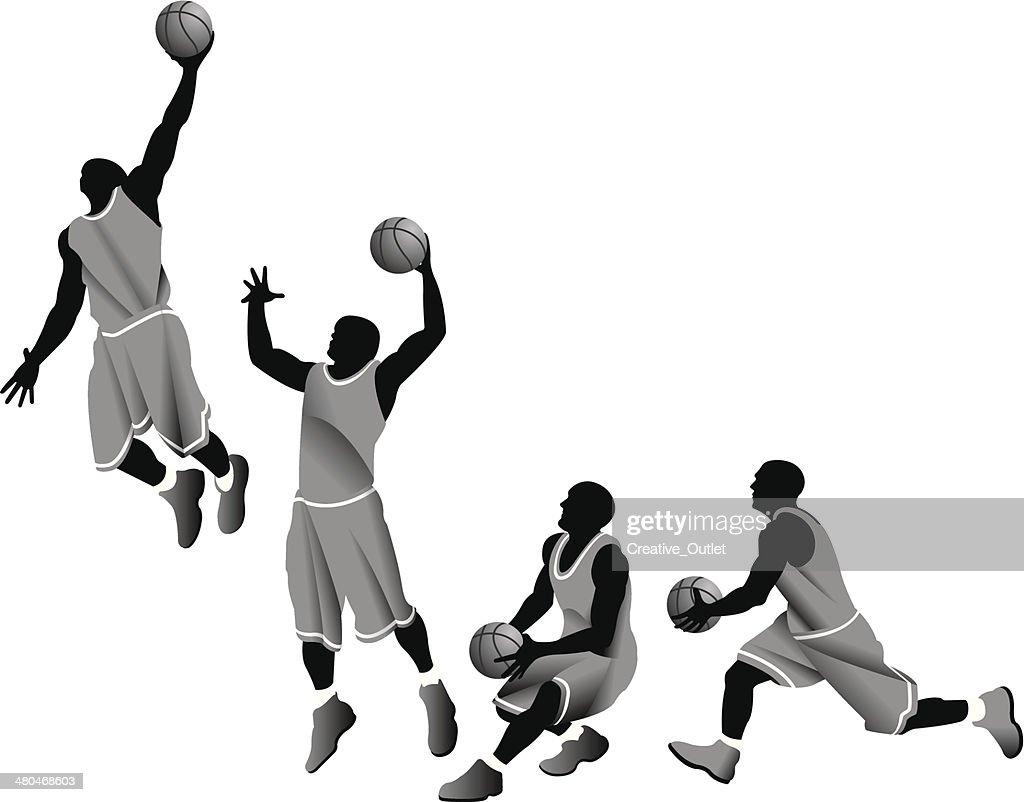 Basketball Player Dunk
