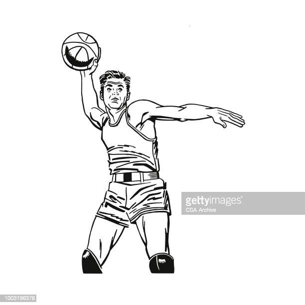guy passing the basketball clipart. Commercial use GIF, WMF, SVG clipart #  168225   Graphics Factory