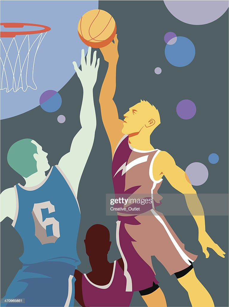 Basketball Players C