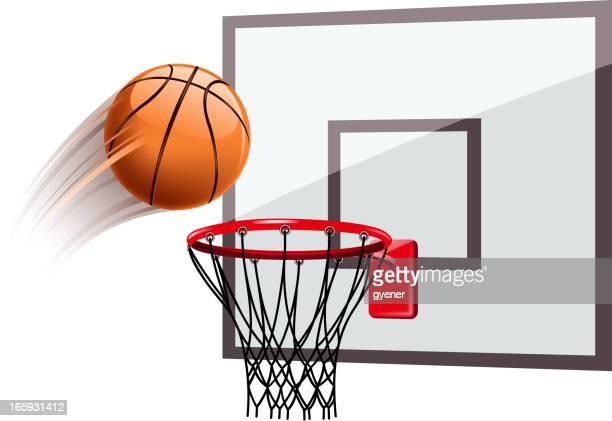 basketball scoring - basket stock illustrations, clip art, cartoons, & icons