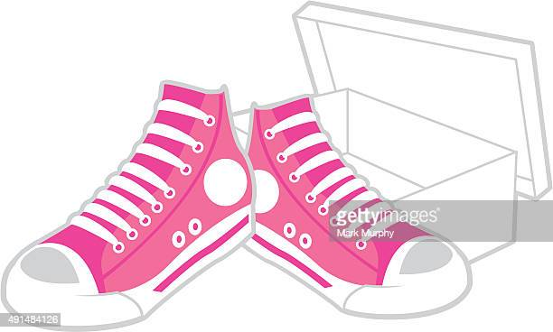 Basketball Sneaker and Shoe Box