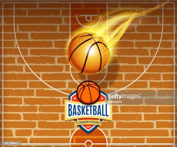 basketball sports sign - basketball competition stock illustrations