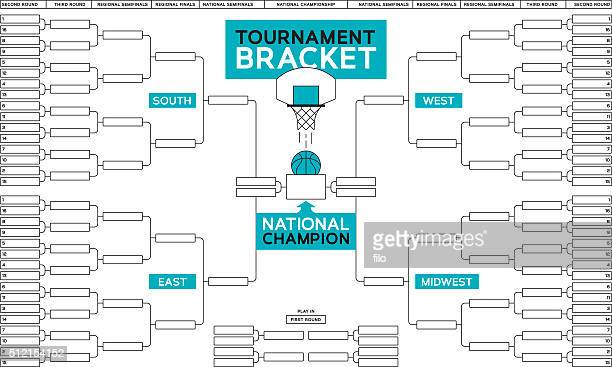 basketball tournament bracket - match sport stock illustrations, clip art, cartoons, & icons