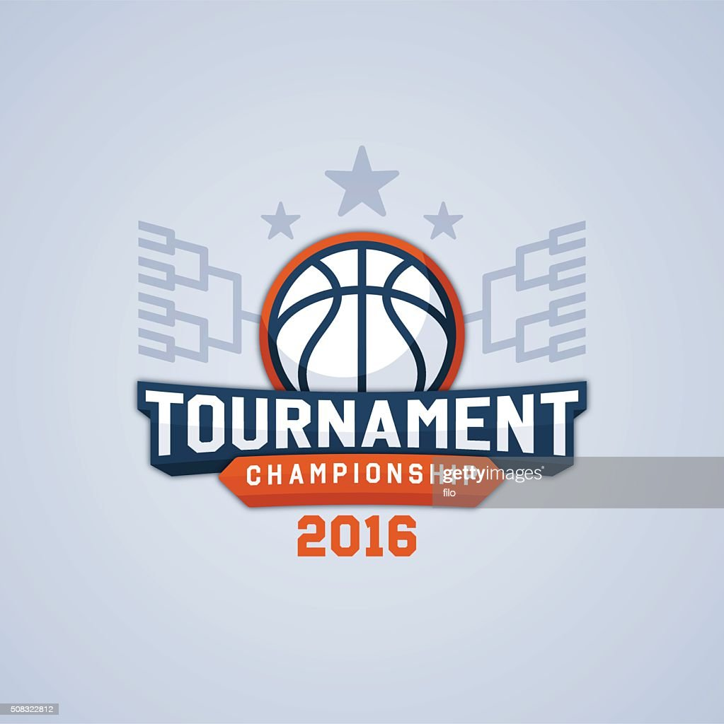 Basketball Tournament Championship : Stock Illustration