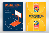Basketball tournament posters