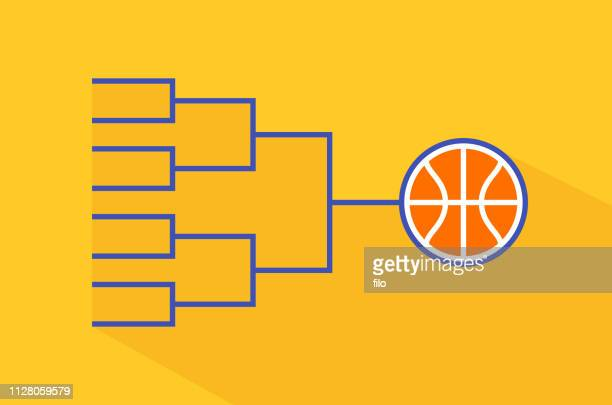 basketball tournament - basketball ball stock illustrations, clip art, cartoons, & icons