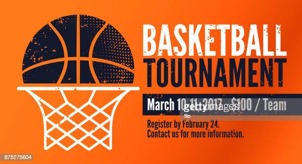 basketball tournament - match sport stock illustrations, clip art, cartoons, & icons