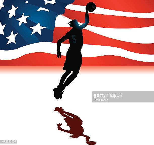Basketball USA All-Star Background - Men