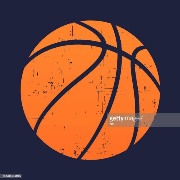 illustrations, cliparts, dessins animés et icônes de basket-ball - ballon de basket