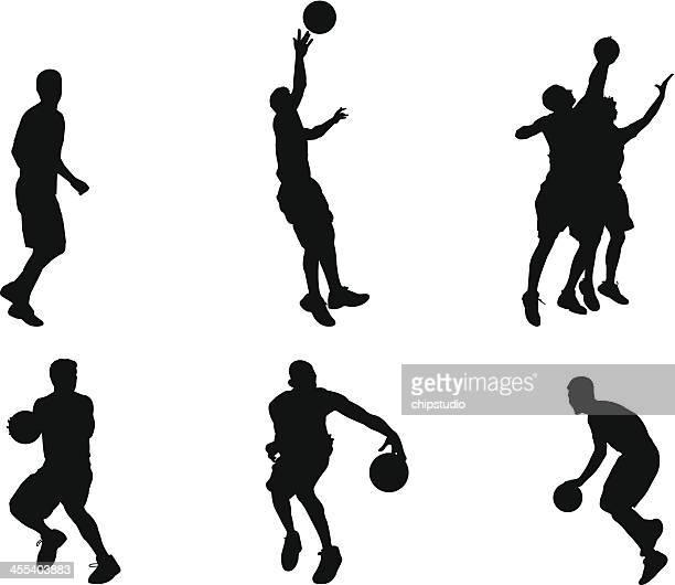 バスケット イラスト