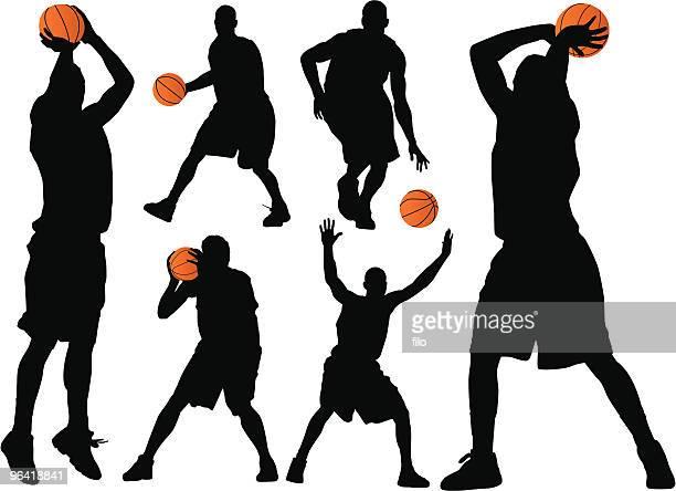 ilustraciones, imágenes clip art, dibujos animados e iconos de stock de de básquetbol - pelota de baloncesto