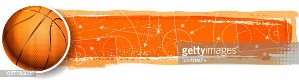 basketball winning planning - team sport stock illustrations