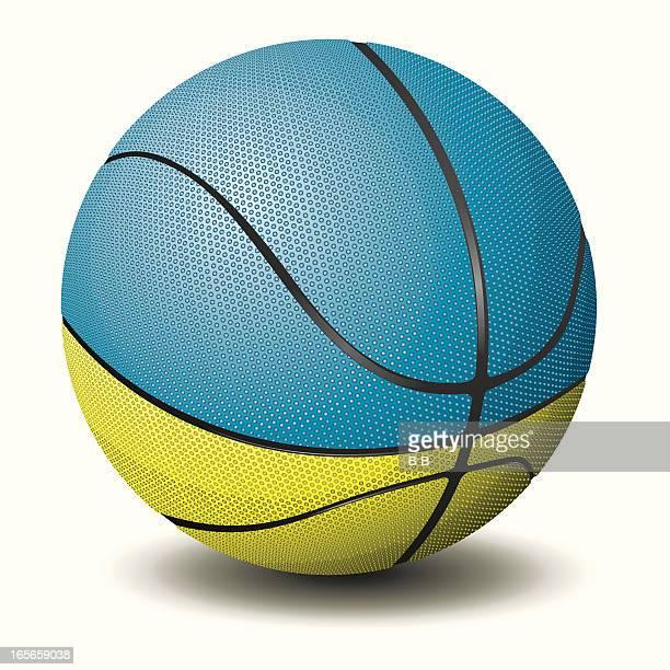 basketball-ukraine - sports organization stock illustrations, clip art, cartoons, & icons