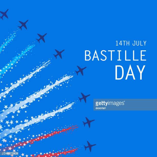 バスティーユの日軍事パレード - 公的祝日点のイラスト素材/クリップアート素材/マンガ素材/アイコン素材