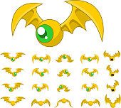 Bat Game Sprites