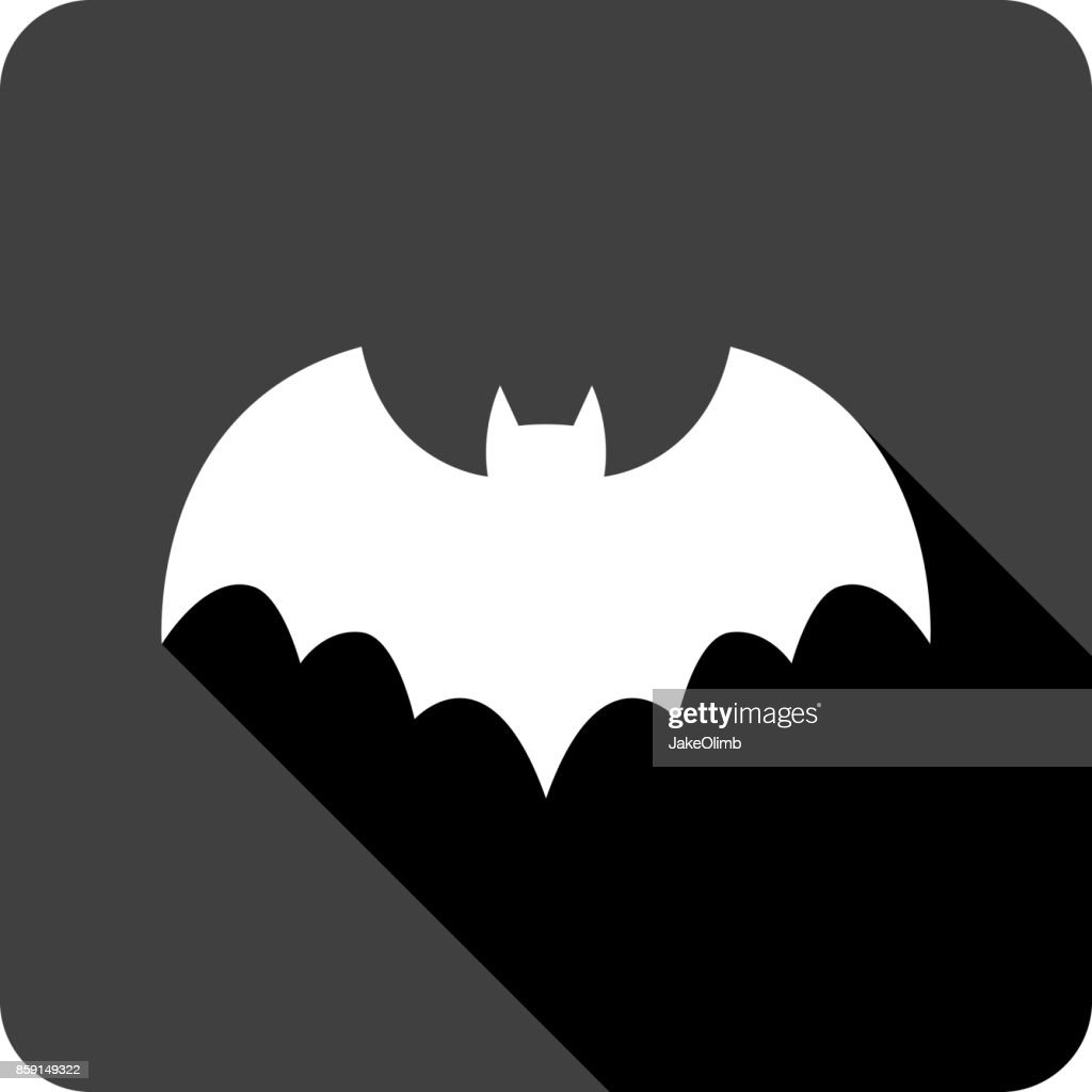 Bat Icon Silhouette