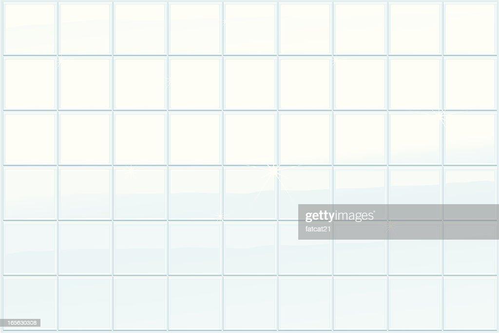 bath tiles : stock illustration