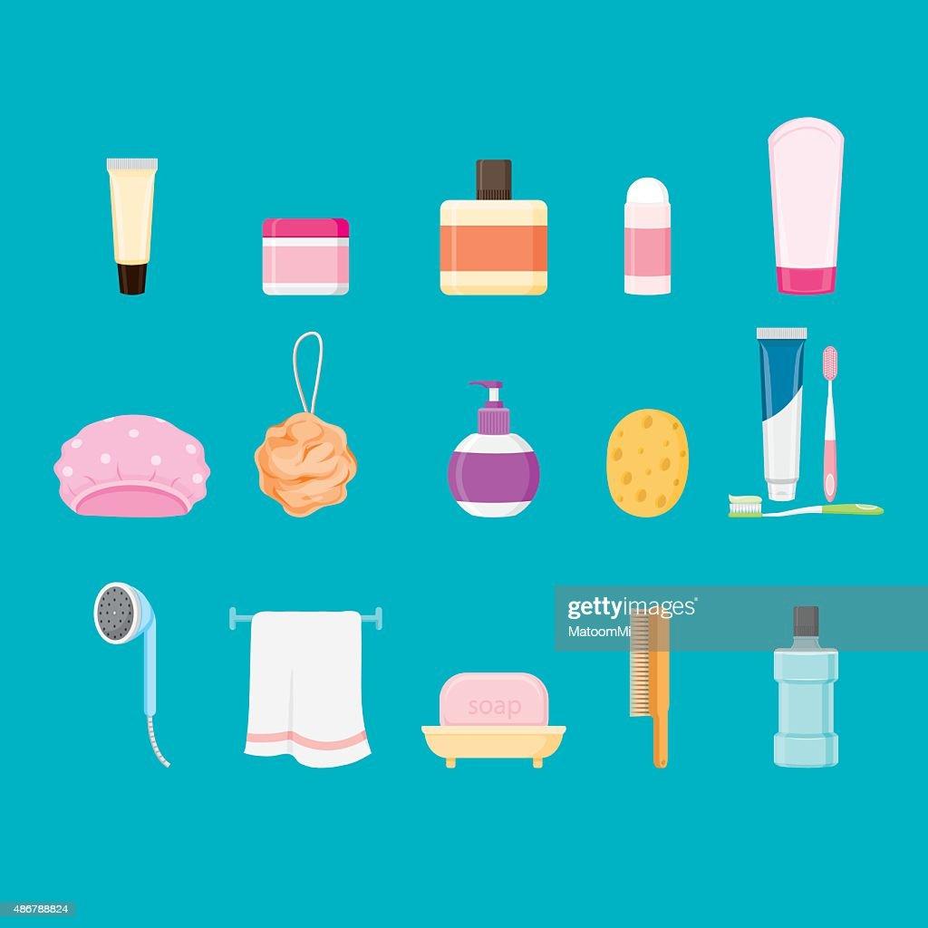 Bathroom equipments set