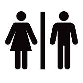 Bathroom Glyph Icon