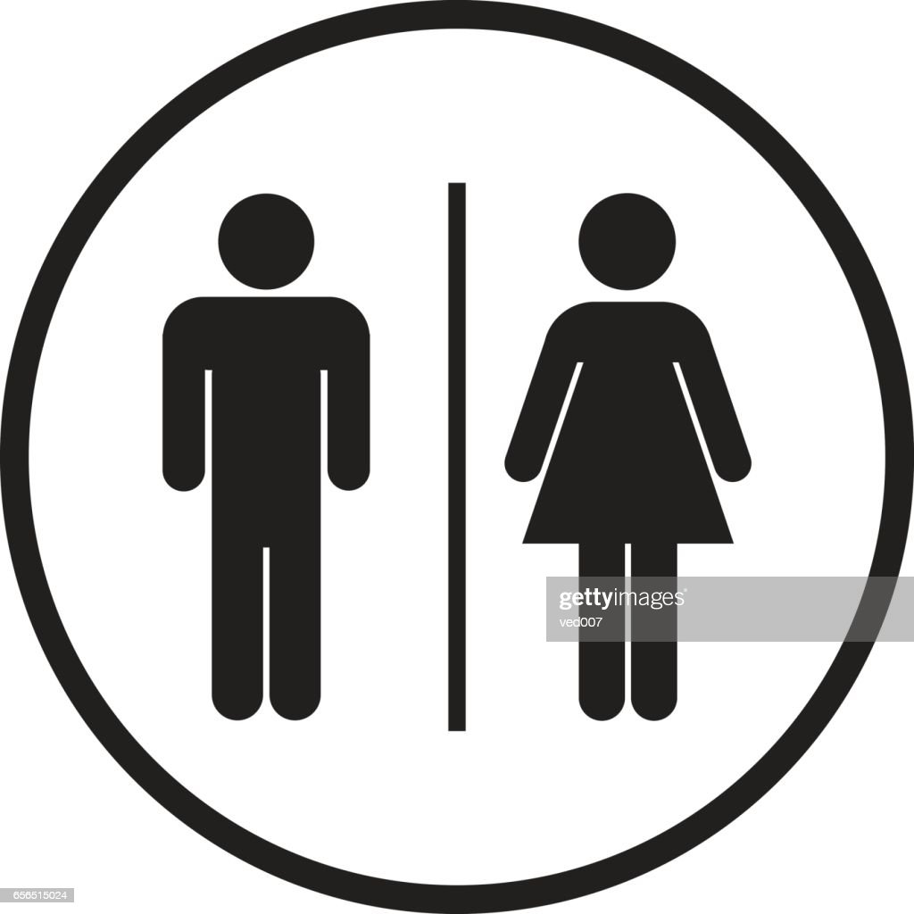 Bathroom Sign Icon