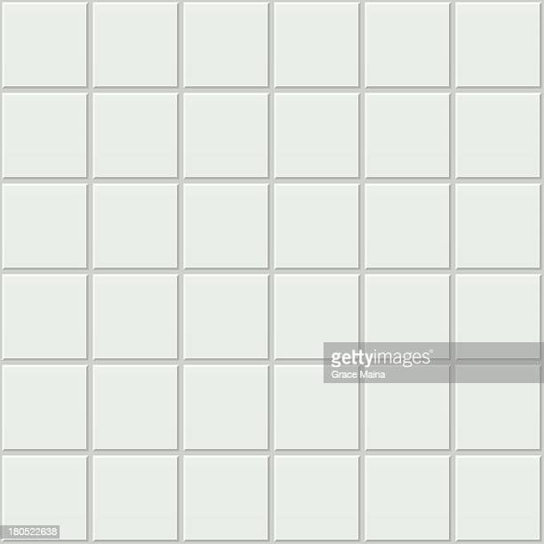 bathroom tiles - vector - bathroom stock illustrations, clip art, cartoons, & icons