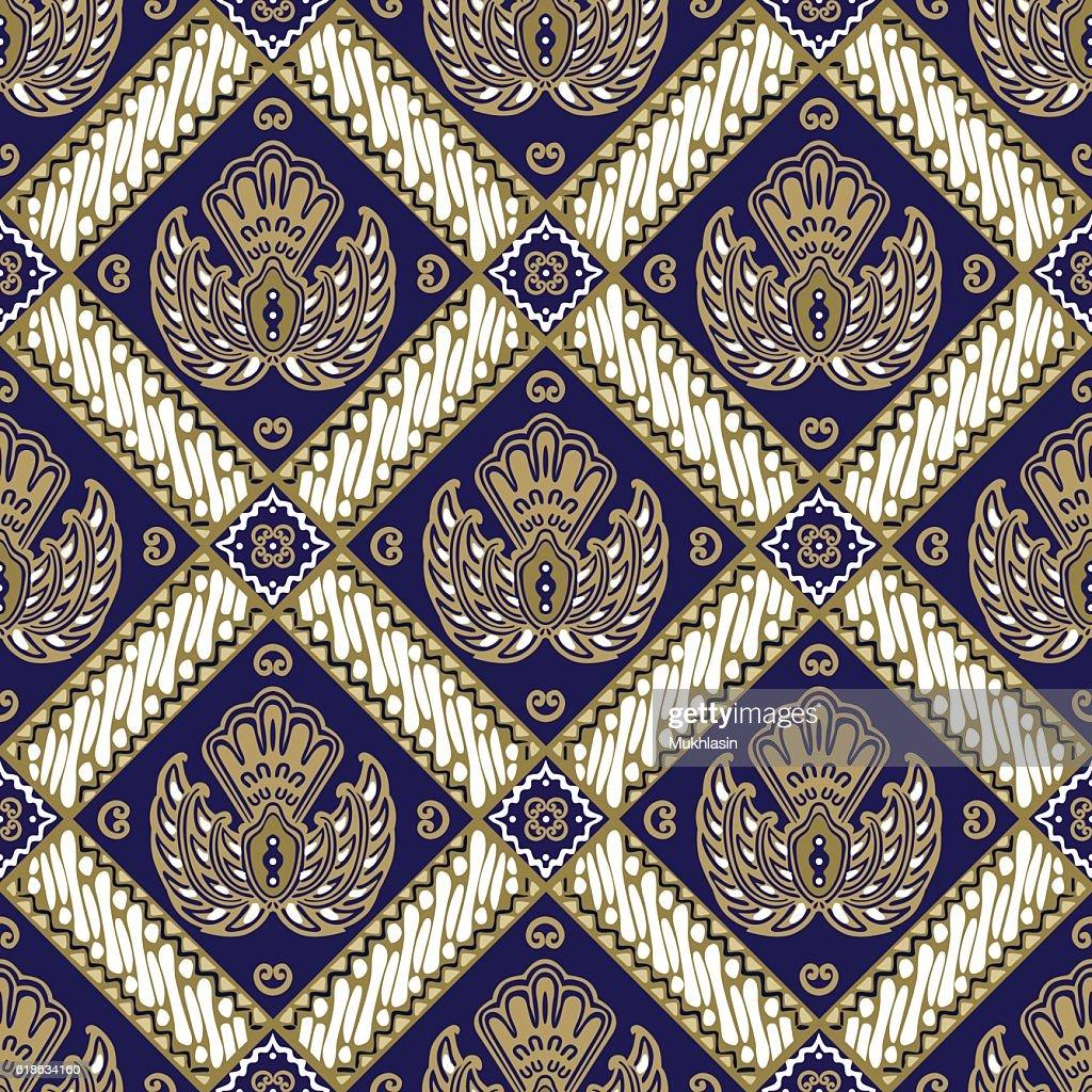 Batik Jogja motif ceplok