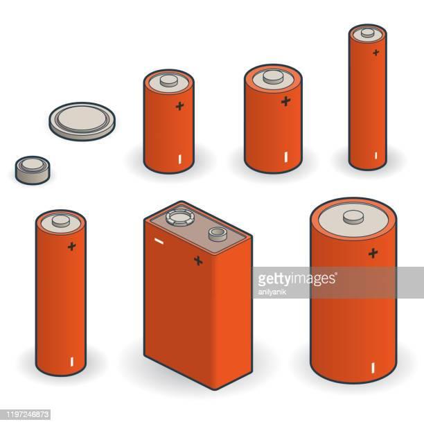電池 - 電源点のイラスト素材/クリップアート素材/マンガ素材/アイコン素材