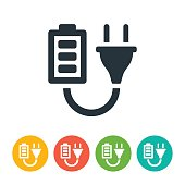 Battery and Plug Icon