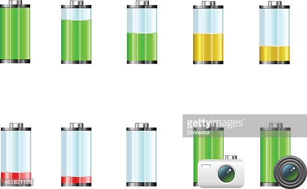 battery icons - animals charging stock illustrations, clip art, cartoons, & icons
