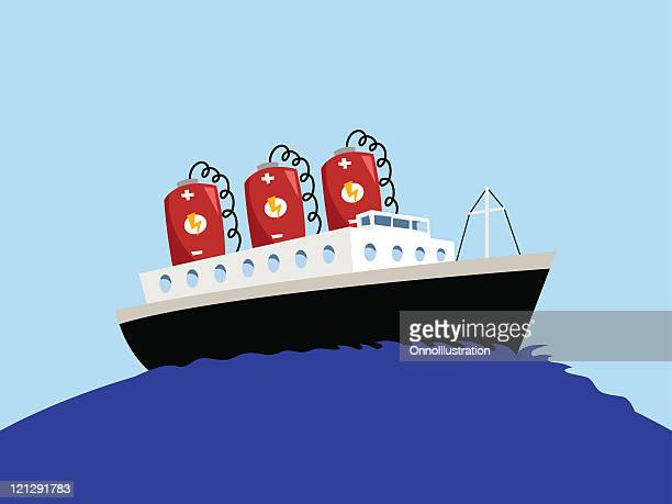 battery powered ship - power supply stock illustrations