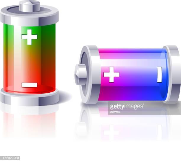 battery - power supply box stock illustrations, clip art, cartoons, & icons