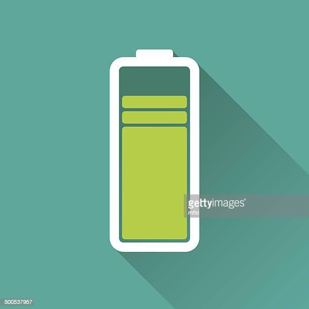 battery - length stock illustrations